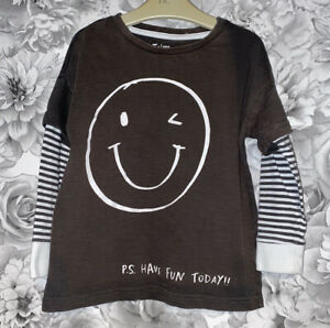 Boys Age 4-5 Years - Long Sleeved Top