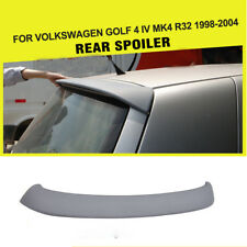 Unpainted PU Car Rear Roof Spoiler Wing Fit for Volkswagen VW Golf 4 IV MK4