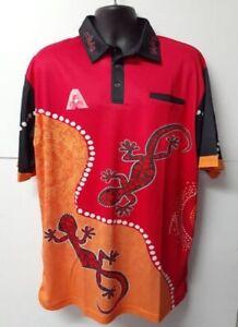 Indigenous Design Red Unisex Bowls Shirt