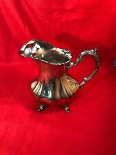 Lancaster Rose by Poole Silverplate Water Pitcher with Ice Lip EPCA #401