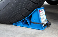 Heavy Duty Wheel Chocks for RV, Trailer, Trucks, and Cars by Eevelle - Set of 2