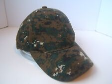 Digital Camo Baseball Hat Hook Loop Camouflage Cap