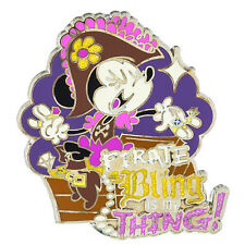 Disney Parks Minnie Mouse Pirate Bling is my Thing Pin Pirates of the Caribbean