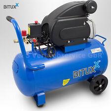 BITUXX® 50L Druckluftkompressor Kolben Kompressor Luftdruckkompressor 8bar