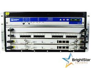 Juniper MX240 AC Router 2x RE-S-2000-4096 | 1x MPC-3D-16XGE-SFPP | 4x AC | MX240