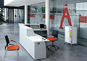 NEXT DAY DELIVERY Reception desk counter in White new price includes vat
