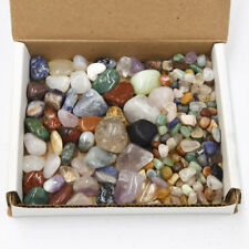 Tumbled Stone Collection 1lb Xxsmall Small and Large Mixed Natural Stones