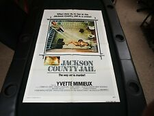 One sheet Movie Poster Jackson County Jail 1976 Yvette Mimieux Tommy Lee Jones