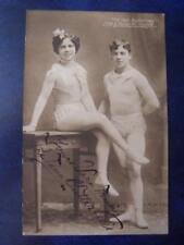 The Two Butterflies Hugo & Margarete Hugosset  - Autograph postcard size