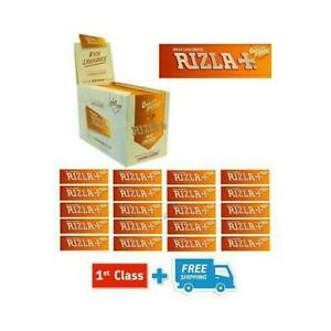 RIZLA LIQOURICE SMOKING ROLLING PAPERS MADE IN BELGIUM (10 & 25 BOOKLETS)