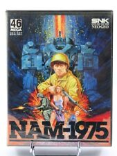 NAM-1975 double notice - SNK NEOGEO AES USA / FR complete  EXC condition RARE ++