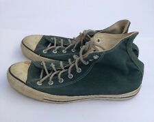 Converse Chuck Taylor Hi Top MADE IN USA Forest Green Size 12