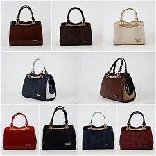 Damentaschen aus Kunstleder mit Fächern
