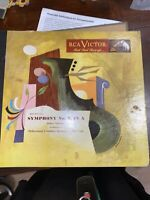 RCA victor red seal records Beethoven Symphony No. 7 in A Arturo Toscanini