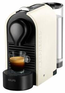 Krups XN 2501 Nespresso U Kapselmaschine / 0,8 l Wasserbehälter / pure cream…