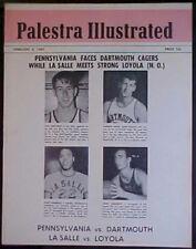 FEBRUARY 4, 1967 PALESTRA ILLUSTRATED NCAA BASKETBALL PROGRAM! BIG 5