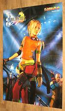 Final Fantasy X Rikku / GTA Vice City Map very rare Poster 55x80cm