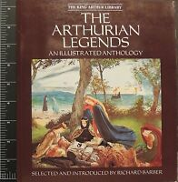 The Arthurian Legends An Illustrated Anthology 1988 Softcover book art prints