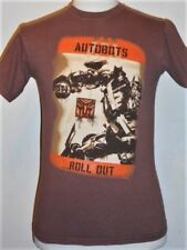 AUTOBOTS...Roll Out '07 TRANSFORMERS Film T-shirt, Small