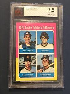 1975 Topps #620 Gary Carter RC Beckett Grade 7.5 Near Mint+ Perfectly centered