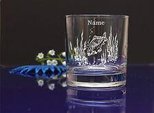 Personalised FISH design SPIRIT Glass CHRISTMAS BIRTHDAY WEDDING/ GIFT PRESENT25