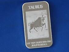 Taurus Zodiac National Silver Art Bar Ingot B1450