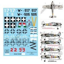 HAD Decals for 1/72 FW-190 F-8 red 2/9, W517/505