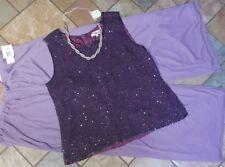 Women's plus size colthing lot evening wear sz 2x NWT pants, 18 blouse, necklace