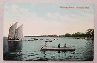 Winnipeg Beach Winnipeg,Manitoba Canada Vintage Postcard 1915?