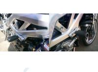 SUZUKI SV 650 BIKINI K3 K4 2003 > 2004 R&G CLASSIC CRASH PADS / FRAME SLIDERS