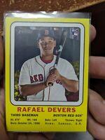 2018 Topps Heritage Rafael Devers (2x) Lot Boston Red Sox RC