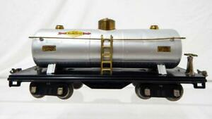 ODD COMBOPrewar Lionel Trains 515 Standard gauge Tank Car Sunoco Oils A+ Repaint