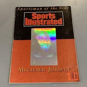 MICHAEL JORDAN 1991 SPORTS ILLUSTRATED (HOLOGRAM) Sportsman of the Year MINT
