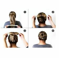 3pc Beauty Hair Bun Maker Donut Hair Styling Tool French Twist Salon Accesories