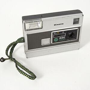 DIXONS DISC 1500 Disc Film Camera + WRIST STRAP Tested Working.