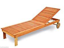 Relaxliegen aus Holz