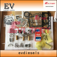 Engine overhaul kit kubota D1105 D1305 piston+ring+gasket+bearing+valve