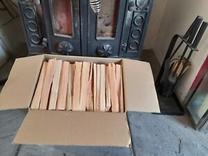 BOX QUALITY DRY KINDLING  FIREWOOD LOGS WOODBURNERS,FAST & FREE P&P