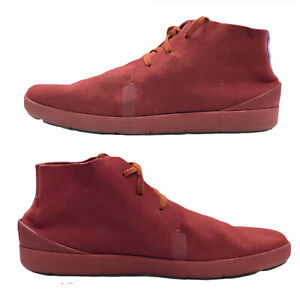 Nike Air Ralston Sneaker Shoe Mens 10 Leather Suede Red Chukka Boot 500094 600