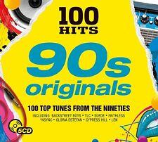 100 HITS - 90S ORIGINALS (BACKSTREET BOYS/LONDONBEAT/SUEDE/+)  5 CD NEUF