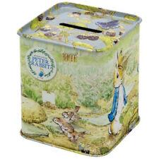 Beatrix Potter Peter Rabbit Square Money Box NEW