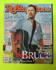 ROLLING STONE USA MAGAZINE 903/2002 Bruce Springsteen White Stripes Vines No cd