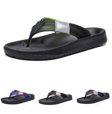 Mens Beach Slingbacks Slippers Shoes Thong Clip Toe Flats Non-slip Pool Casual B