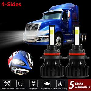 9005 LED Headlight Bulbs Kit For International Truck Pro Star Prostar 2008-2016