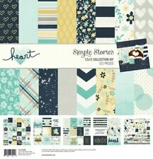 "Simple Stories Collection Kit 12""X12""-Heart -HAR10498"