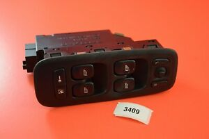 B4 02-08 VOLVO S60 S80 V70 XC90 BLACK DRIVER SIDE MASTER WINDOW SWITCH 09193383
