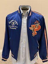 NWT POLO RALPH LAUREN Men's Letterman Varsity Basketball Jacket S Retail $598