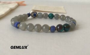 MIKIA Japan Labradorite & Chrysocolla Bracelet One-Size