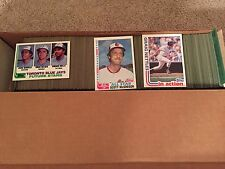 Complete Finish Your 1982 Topps Baseball Set - Pick 25
