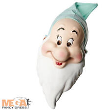 Dwarf Bashful Mask Snow White Disney Fairytale Adult Fancy Dress Costume Acces